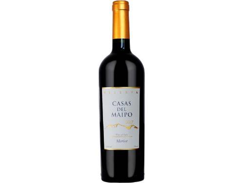 Vinho Tinto Casas Del Maipo Reserva Merlot 750ml