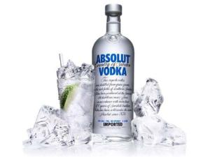VODKA ABSOLUT NATURAL 1LT
