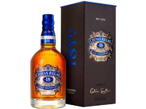 WHISKY CHIVAS 18 ANOS 750ML