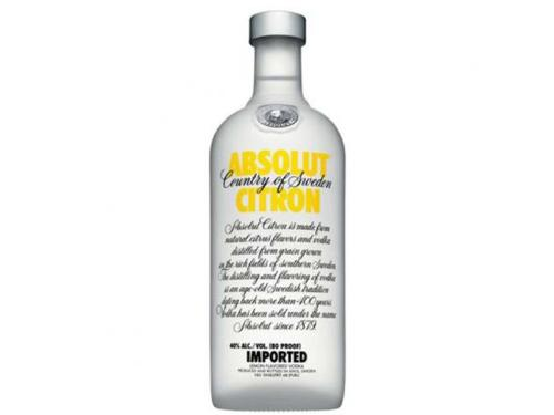 VODKA ABSOLUT CITRON 1LT