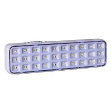 Luminária De Emergência 2w 30 Leds Bateria Lítio Luz Sollar