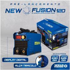 INVERSORA DE SOLDA FUSION 120 DIGITAL - WELD VISION